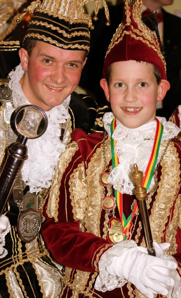 Prins Jeromy I en Prins Cas I
