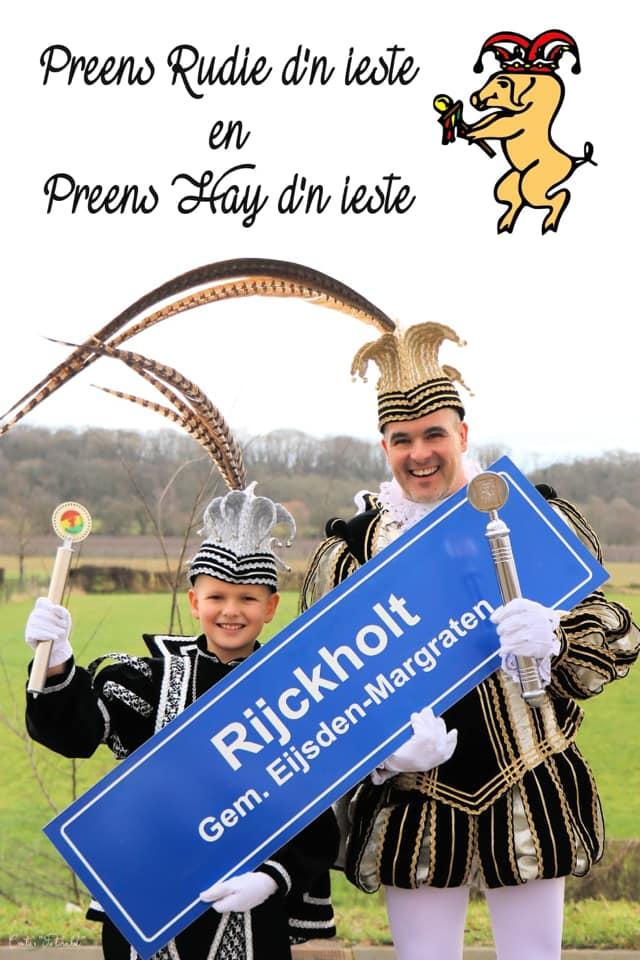 Prins Rudie I en jeugdprins Hay I